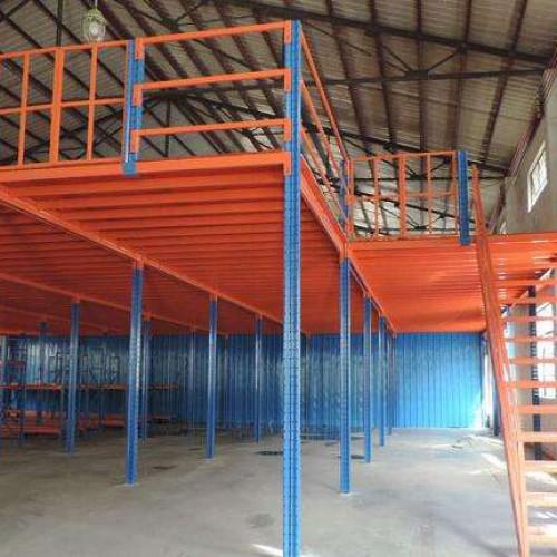 阁楼式货架是用什么方法改善仓库中的环境的