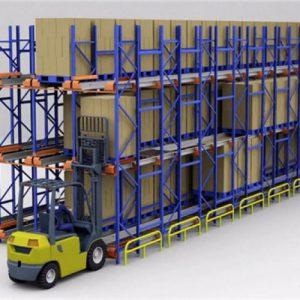 穿梭车货架在货架行业中是如何定位的,产品效果是什么