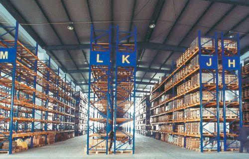 仓库内部货位布局的方式有哪些