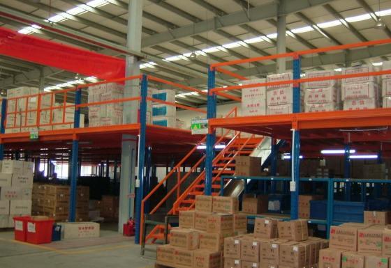 阁楼式货架结构特点及应用领域