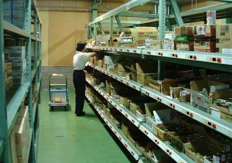 电子标签在仓库货架上如何使用